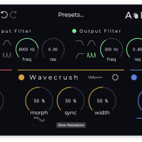 Krushpro audio crusher plugin